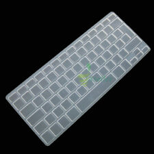 Silicone Clear Keyboard SKin Cover Protector Guard Film ~ EU UK Layout For Apple