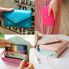 Lady's Multifunctional Envelope Wallet Phone Case for Samsung Galaxy S2 S3 i9300