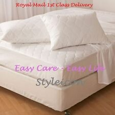 Hotel Quality Quilted Mattress Protector Bed Cover Single Double King Super King
