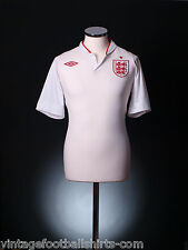 2012-13 England Home Umbro Football Soccer Jersey Kit Top Shirt  *BNWT*