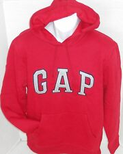 GAP Men's Red Logo Hoodie Sweatshirt Sizes M-XXL