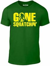 Kids Gone Sasquatchin T Shirt - Funny childrens t shirt Bigfoot cool monster US