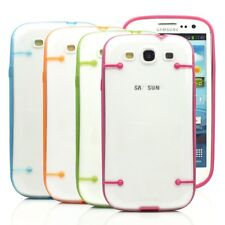 Luminous Ultra-thin Clear Transparent Cover Case for Samsung Galaxy S3 SII i9300