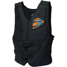 Slippery Adult Mens Switch Molded Life Vest Life Jacket Type 3 PFD Black / Blue
