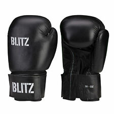 New Blitz Leather Boxing Gloves