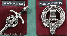 MacNaughton Scottish Clan Crest Badge or Kilt Pin Ships free in US
