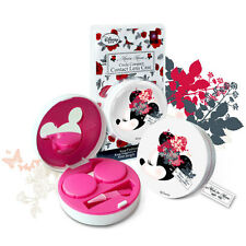 DISNEY MINNIE Mouse CIRCLE CASE for Contact Color Party Lenses New Online Best