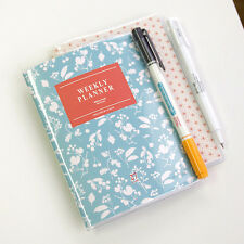 Iconic A6 Weekly Planner_Undated Journal Organizer Scheduler (27Weeks)+PVC Cover