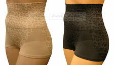 Control Shorts Animal Print Soft Touch Shorts Shapewear Tummy Control Bum Lift