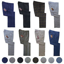Mens STA PRESS Trousers by Relco NEW 3 Colours Size 30 - 40 Mod Skin Retro Vtg