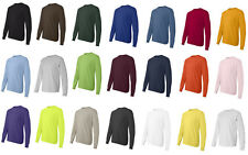Hanes TAGLESS Long Sleeve T-Shirt, Choose from mens sizes S-3XL  (5586)