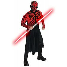 Deluxe Darth Maul Costume Adult Mens Star Wars Halloween Fancy Dress