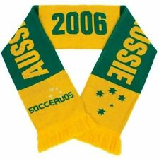 Australian Socceroos Supporter Scarf Aussie Soccer BNWT Jacquard