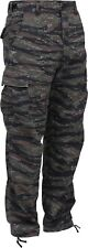 Tiger Stripe Camouflage Military BDU Cargo Bottoms Fatigue Trouser Camo Pants