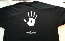 "Skyrim inspired Dark Brotherhood ""We Know"" glow in the dark T-shirt"