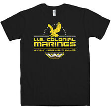 New Mens T Shirt -  Inspired by Alien T Shirt - US Colonial Marines