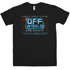 New Mens T Shirt -  Inspired by Blade Runner T Shirt - Off World Colonies