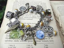 Shadowhunter Nephilim Jace Clary The Mortal Instruments Locket Charm Bracelet