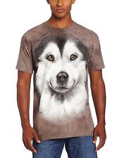 Alaskan Malamute Face Dog Pet Lover Authentic The Mountain Adult T-Shirt