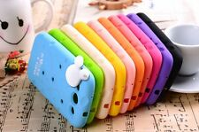 Cute Cable Holder Mickey Cheese Skin Cover CaseFor Samsung Galaxy SIII S3 I9300