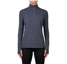 NEW WOMEN'S KIRKLAND SIGNATURE QUARTER ZIP PULLOVER EASY FIT ACTIVE TOP VARIETY!