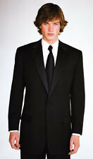 Calvin Klein Miami 2 Button Black Short Tuxedo