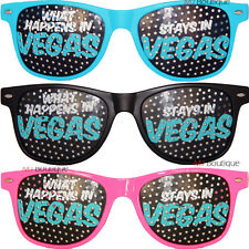 What Happens In Vegas Stays In Vegas Wayfarer Glasses rave party favor costume