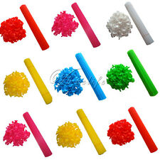 100 Party Festival Appliance Plastic Balloon Sticks and Cups