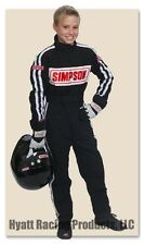 Simpson STD.P1 Youth Premium Antron Kart Racing Suit - All Sizes & Colors