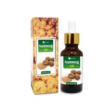 NUTMEG OIL 100% NATURAL PURE UNDILUTED UNCUT ESSENTIAL OILS 5ML TO 100ML