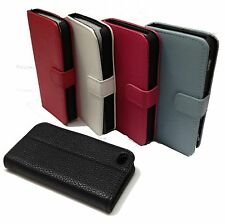 Color Wallet Leather Hard Case Folio Pouch Front Cover for iPhone 4 /4S 4G 4th