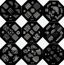 Nail Art Stamping Image Template QA Series QA47 to QA79 (New)