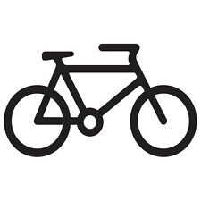 Bicycle Sticker Vinyl Decal !Choose a Color & Size! Fixie Fixed Hipster Symbol