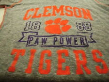 Clemson Tigers Ladies t-shirt licensed NCAA New w/tags Paw Power