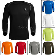 Men Outdoor Sportswear Quick-Dry Compression Cycling Base Layers Jersey Tshirt