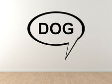 Dog #1 - Doggy Pet Veterinary Care Puppy Training - Vinyl Wall Decal