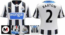*13 / 14 - PUMA ; NEWCASTLE UTD HOME SHIRT SS / BARTON 2 = KIDS & JUNIOR SIZE*