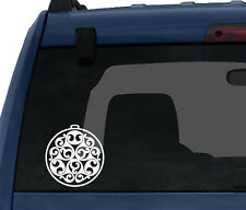 Celtic Stone #2 - Wandsworth Shield Style Celt Ornament - Car Tablet Vinyl Decal
