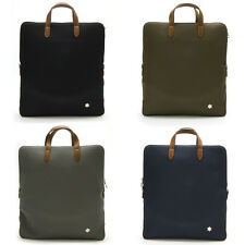 Nwt Mens 3 Way Multi Bags Backpack Shoulder Tote School Book Casual Office Chic
