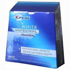Crest 3D Professional Effects Teeth Whitening Whitestrips 10, 14, 20, 40 strips