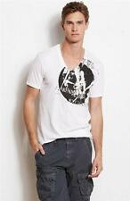 New Armani Exchange A|X Mens Slim/Muscle Fit Graphic  Circle Overlay Tee Shirt