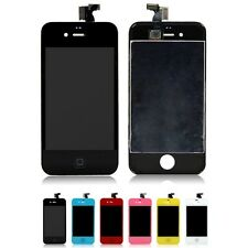 Replacement Front LCD Touch Screen Display Digitizer Assembly Fr iPhone 4 4G New