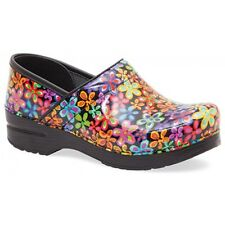 Dansko Professional Clog Flower Power womens size 6-11/36-41 NEW!!!