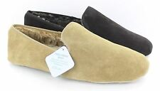 Mens Clarks Suede Leather Slippers Kite Wolesley
