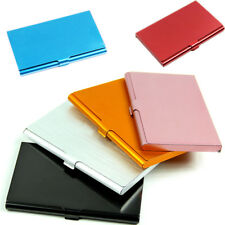 Pocket Business ID Credit Card Wallet Holder Case Aluminum 5 Colors For Choice