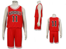 Slam Dunk Rukawa Uniform Cosplay Costume Anime NEW