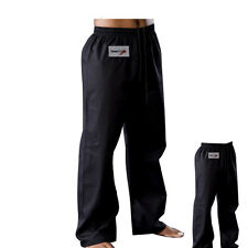 TurnerMAX Cotton Martial Arts Karate Pants Kick Boxing MMA Training Exercise