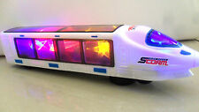 """13"""" 3D TRAIN ELECTRIC TOY WITH LIGHTS SOUNDS -BOY GIRL - LATEST NEW LIGHTS 3D -"""
