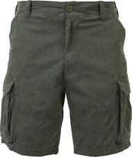 Olive Drab Military Vintage Army Paratrooper Shorts Cargo Shorts