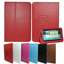 Stand Cover Case  PU Leather Folio for Lenovo IdeaTab 7inch A1000 Tablet PC MID